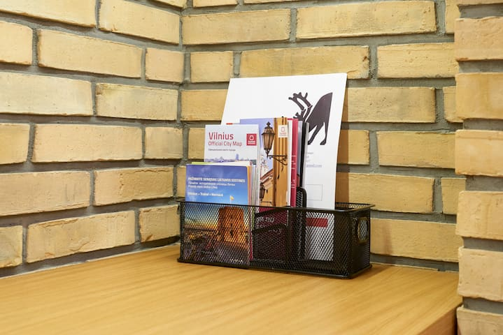 Maps and brochures