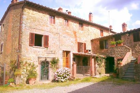 Toscana, Chianti con Jacuzzi, Florence, Siena 6pax - Gaiole in Chianti - Casa