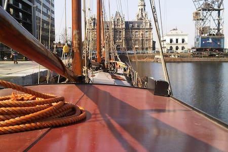 Gezellig slaapschip in Antwerpen  - Antwerp