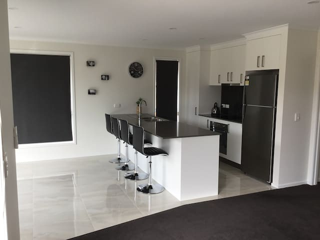 Modern Clean self contained house