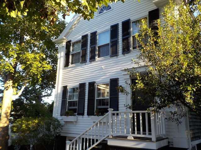 In the Heart of Nantucket Town, Ash Lane