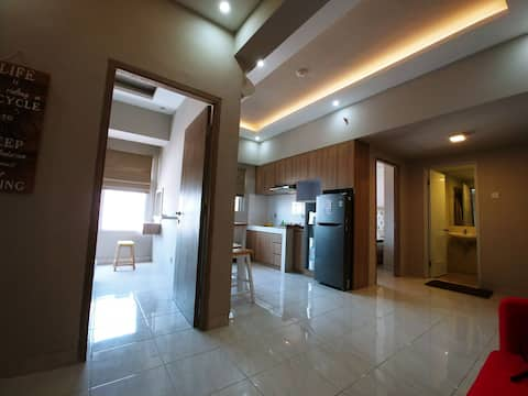 For rent 2 beds room Apartment in central bandung