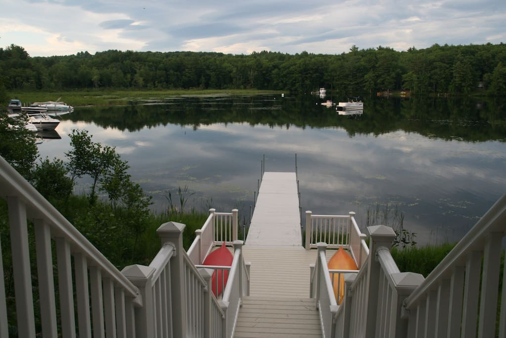 Private Lake Winnipesaukee Home