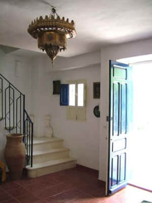 Entrance hallway to Casa Ava.