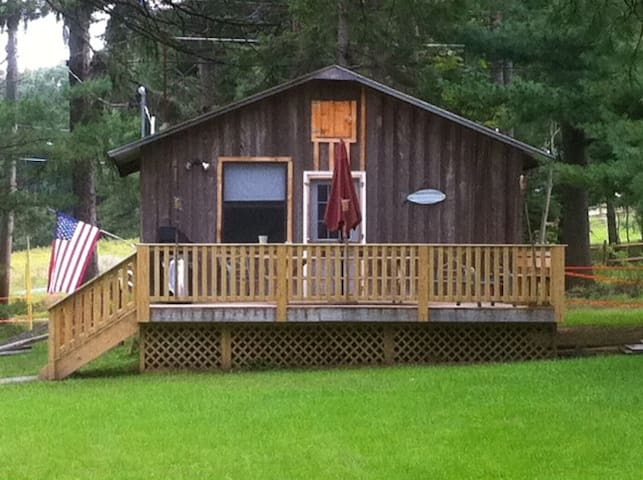 Country Cabin 115 acres  Cabin #1 *** has WiFi