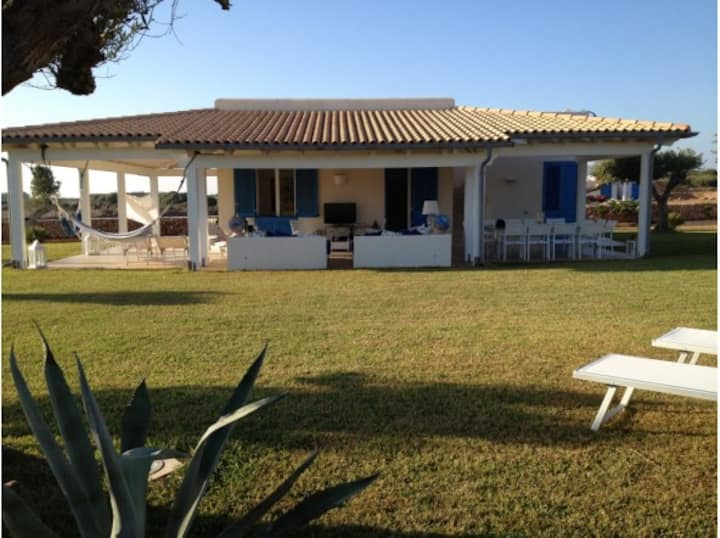 Favignana villa moderna 4-6 pers