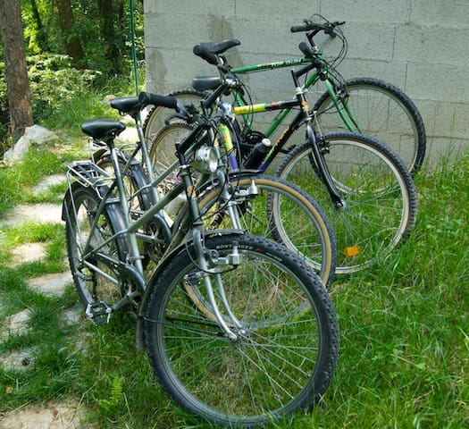 4 bikes available