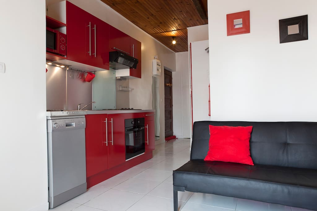 2 bedrooms100 meters from the beach
