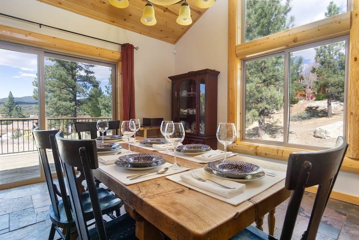 Luxury On Eagle Ridge Gorgeous Furnished Log Cabin / Jetted Tub / Game Tables