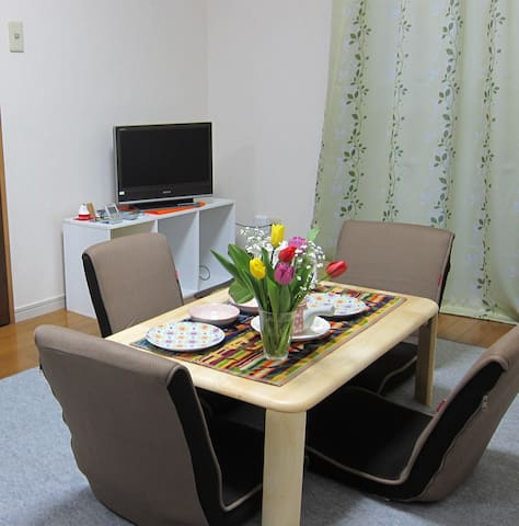 NEW★Clean★Shinjuku★ Entire FreeWifi★Nice Location - Suginami-ku - Apartamento
