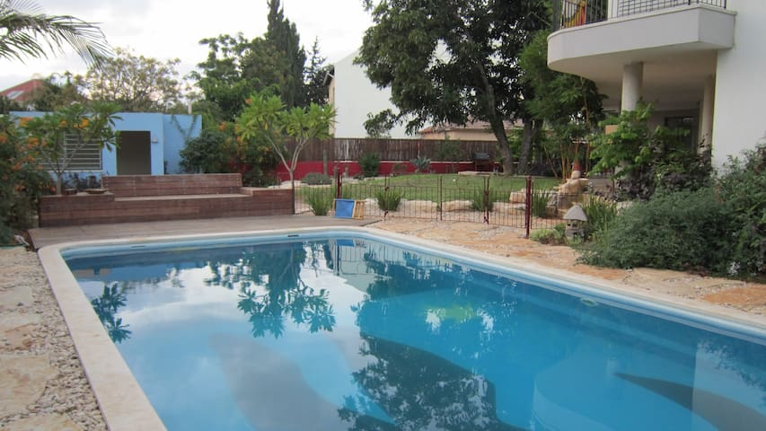 Eco Garden Apartment + Private Pool - Herzliya - Villa