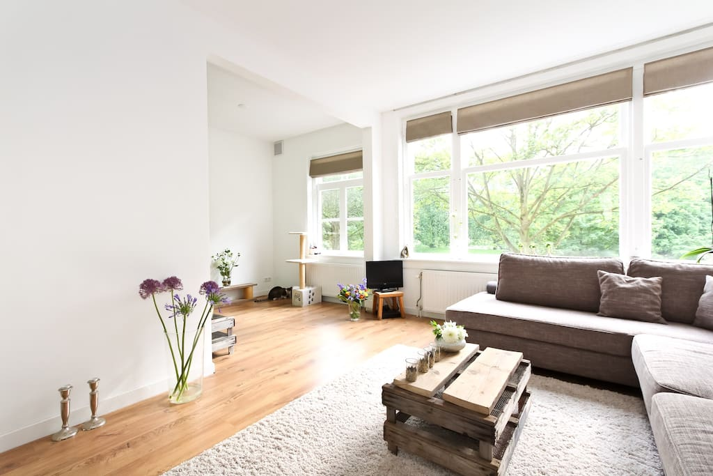 Beautifull appartment with parkview appartements louer amsterdam hollande septentrionale - Chambre a louer amsterdam ...