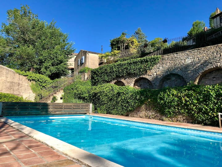 Stylish rustic Gite with use of glorious pool!