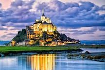 Le Mont-Saint-Michel à 1 h 30 en voiture
