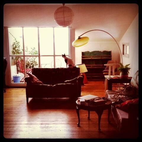 Authentic artist's loft available