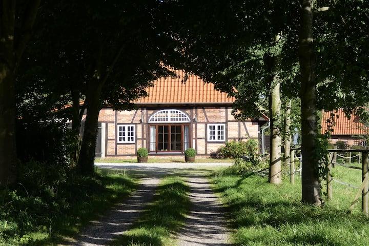 Urlaub in historischem Fachwerkhaus - Alte Tenne