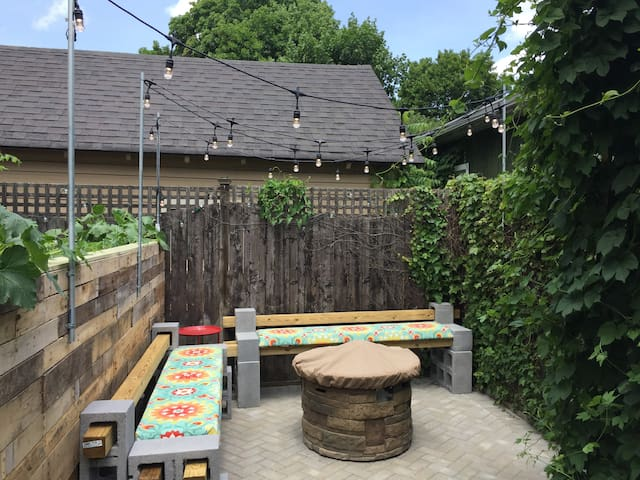 Enjoy the patio and fire pit!