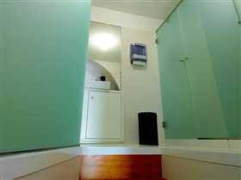 WC do dormitório masculino