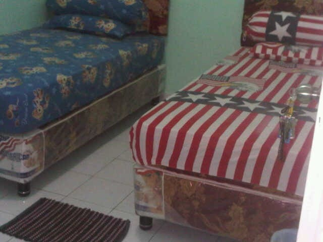 Kamar dengan double bed