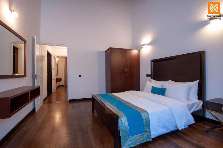 Bedroom 2 ( Panasonic Inverter AC 18000 BTU )