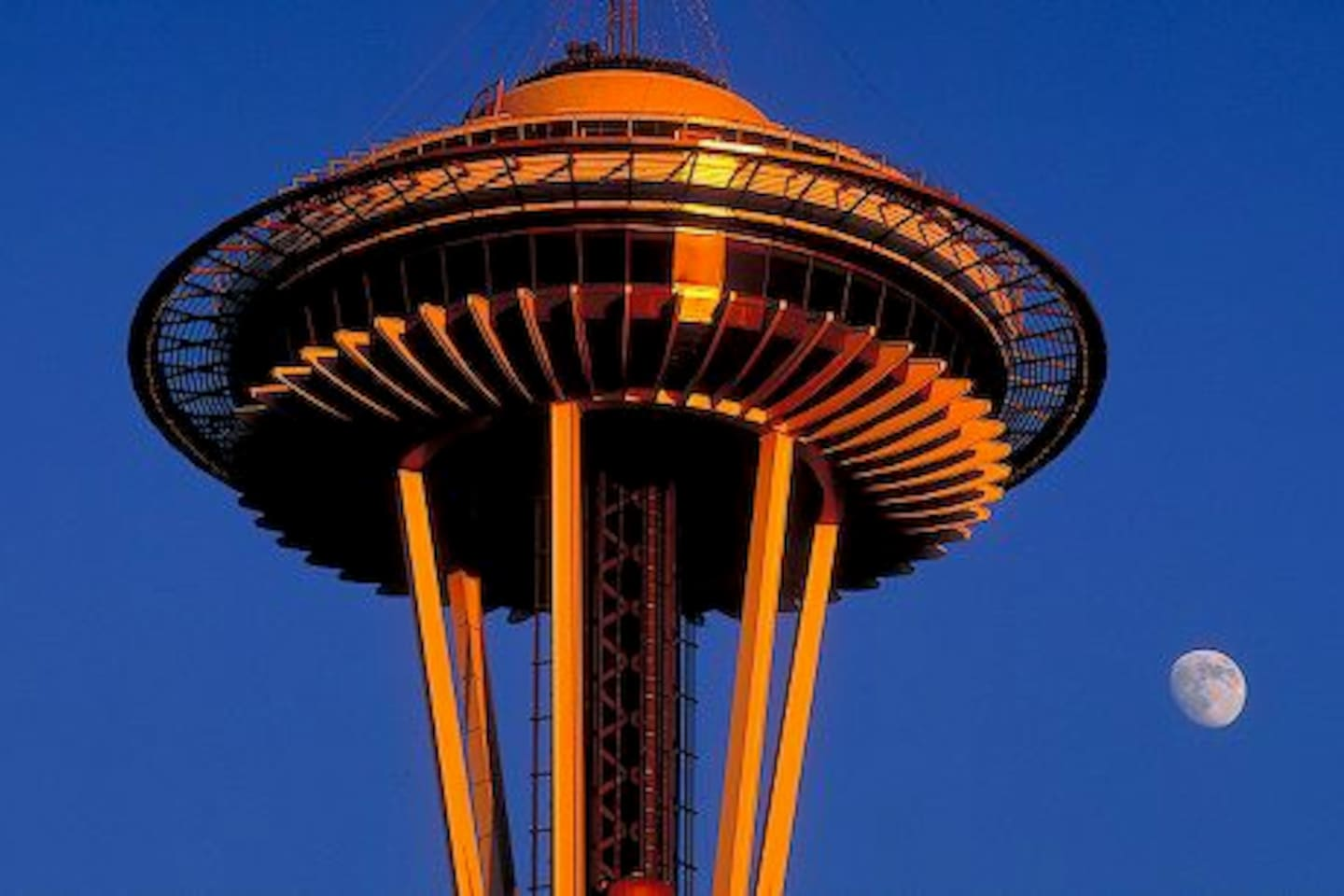 We are just two blocks from the Space Needle and the Seattle Center