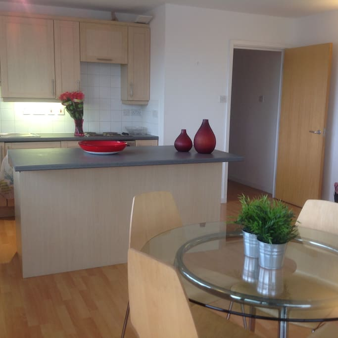 Fitted kitchen in Lounge