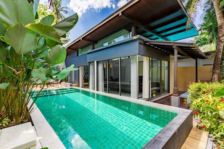Love Layan Tropical villa near the beach