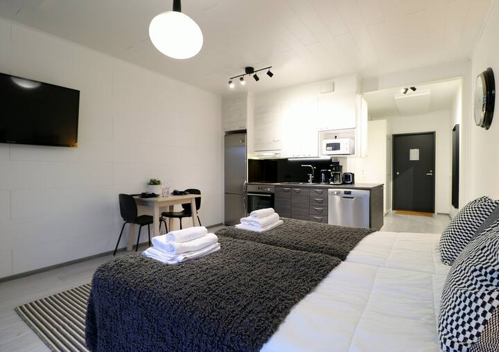 Studio apartment in Vantaa, Gammelkullantanhua 3