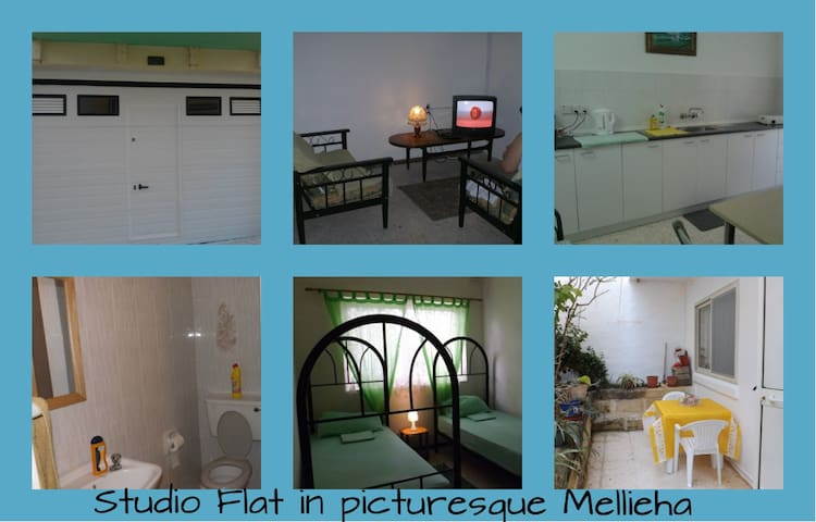 STUDIOFLAT IN PICTURESQUE MELLIEHA