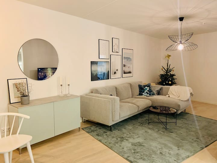 Modern and spacious apartment with great location