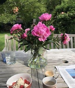 Prachtig tuinkamer in monumentaal pand in  Veere
