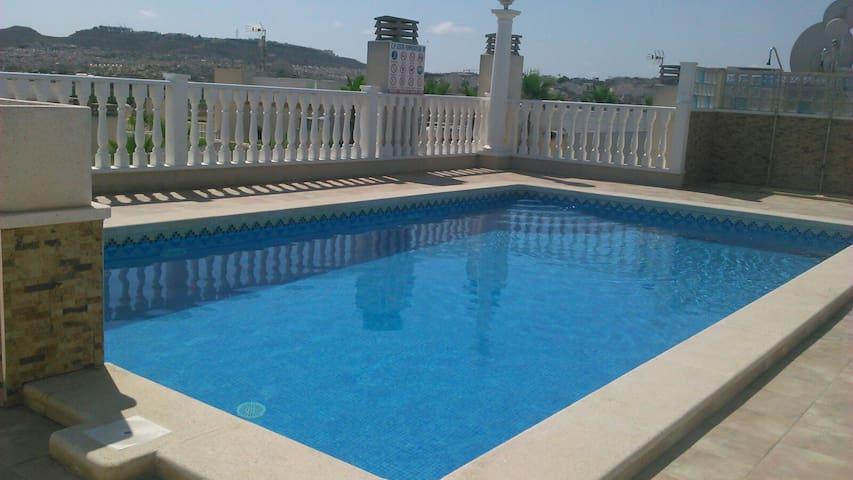 Apartamento con piscina a 8 km de la playa - Formentera del Segura - Apto. en complejo residencial