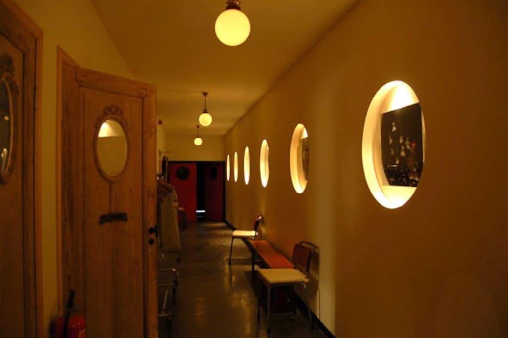 Ingang theater loft