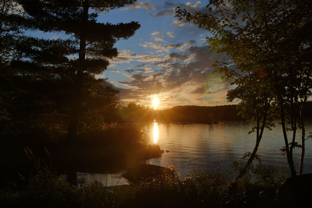 Jim Salva's Fern Lake Sunset