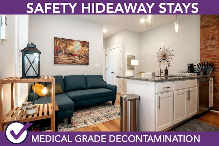 Safety Hideaway - Medical Grade Clean Home 56
