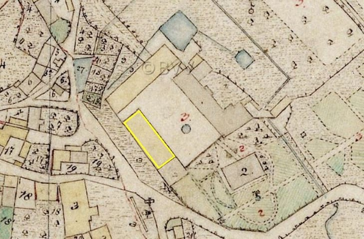 old map of the manor