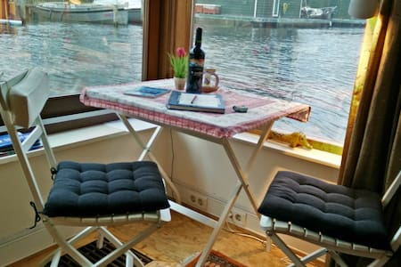 Romantic houseboat in Jordaan - Amsterdam - Boot