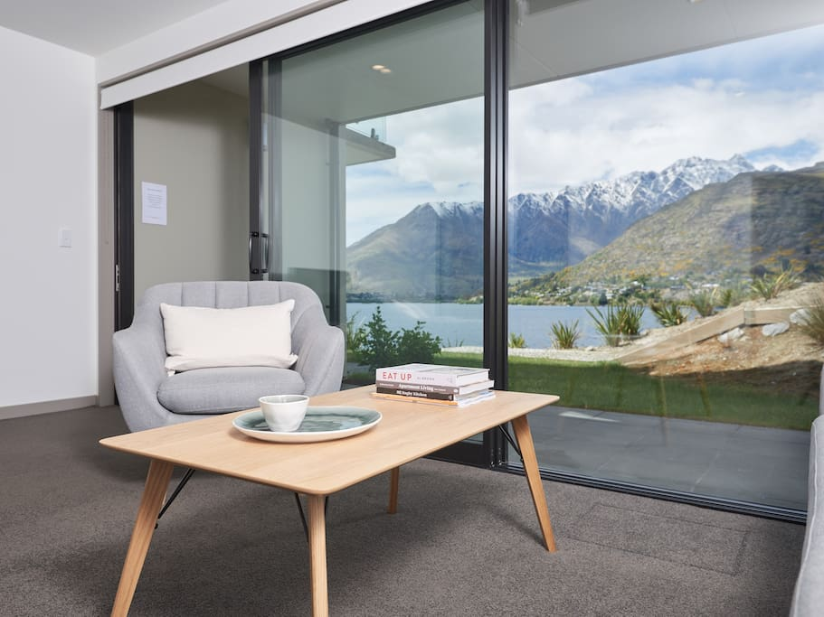 Lounge with stunning views