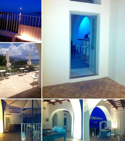 Splendida Villa sul mare grande relax. - Santa Marina Salina - Vila
