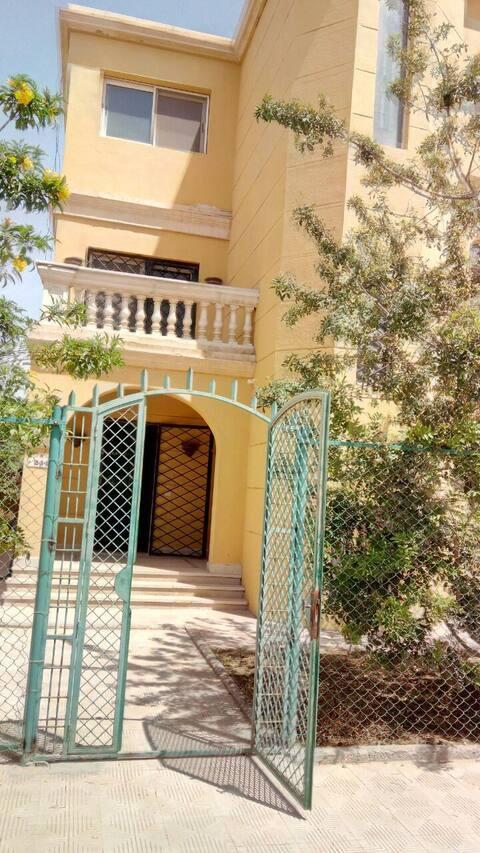 Villa with private garden