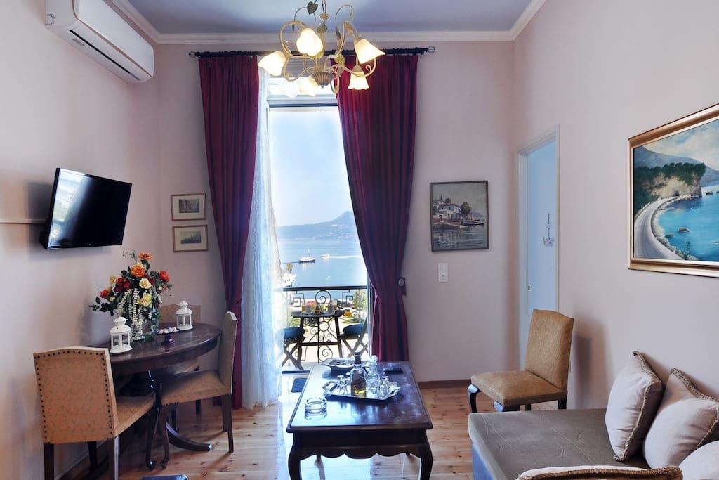 Anesis Apartment Corfu view
