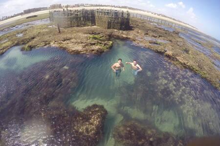 RESIDENCE SOL & MAR - Tranquilidade e Praia - Flecheiras