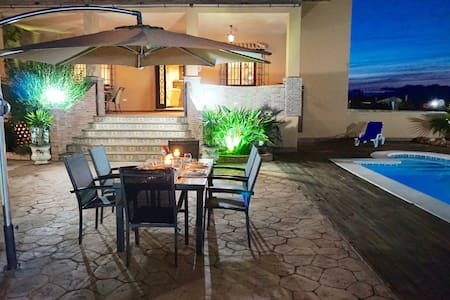 Luxury villa with private pool, outdoor barbecue. - Alhaurín el Grande