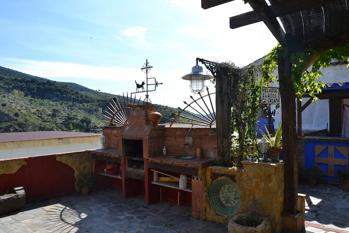 Habitación en Casa Al-Chya (Quéntar-Granada)