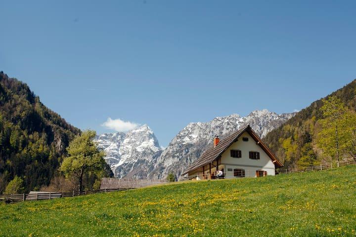 Bela II, Robanov kot valley