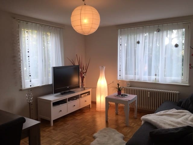 Very nice room close to city center - Birsfelden - Wohnung