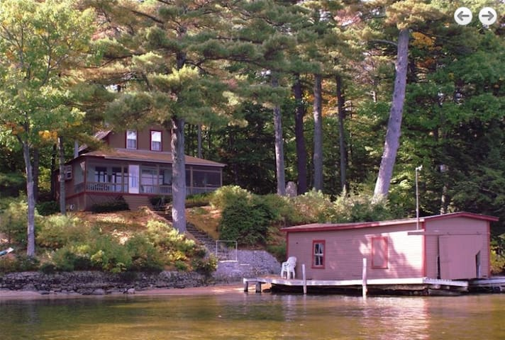 Winnipesaukee Lake House with Dock & Private Beach - Alton