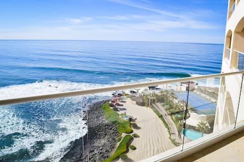 🌊 Oceanfront Boutique 1,500SF Condo Staycation ☀️