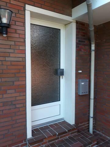 Der separater Eingang