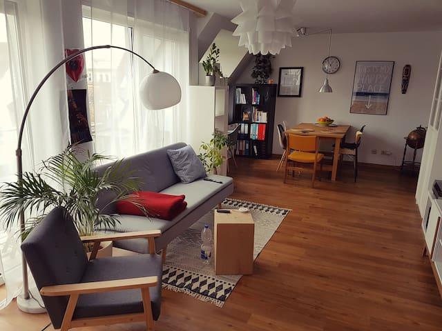 Stylische 2-Raum Wohnung in Karlsruhe, top Lage!!!